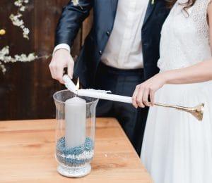 Kerzenritual Hochzeitskerze