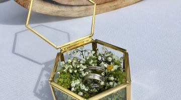 Alternative für Ringkissen mit Blumen