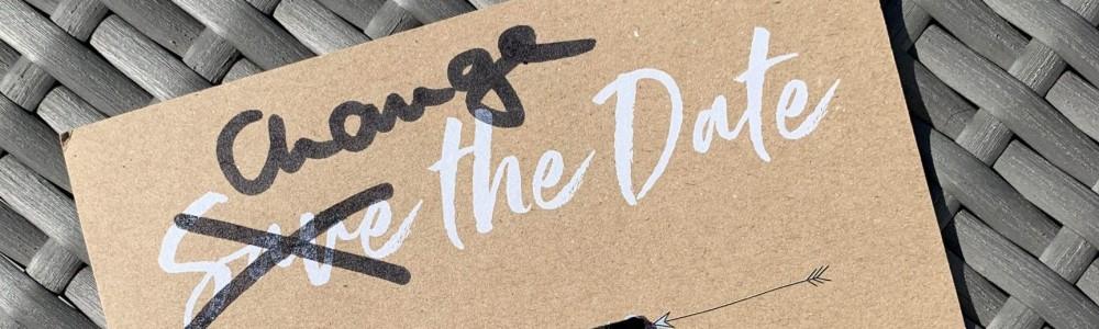 Change the Date - Hochzeit verschieben wegen Corona